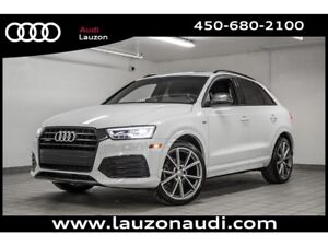 2017 Audi Q3 2.0T TECHNIK S-LINE BLACK OPTICS 20