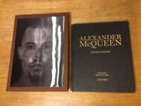 Alexander McQueen 2 books, Fashion Visionary by Judith Watt and Savage Beauty by Andrew Bolton