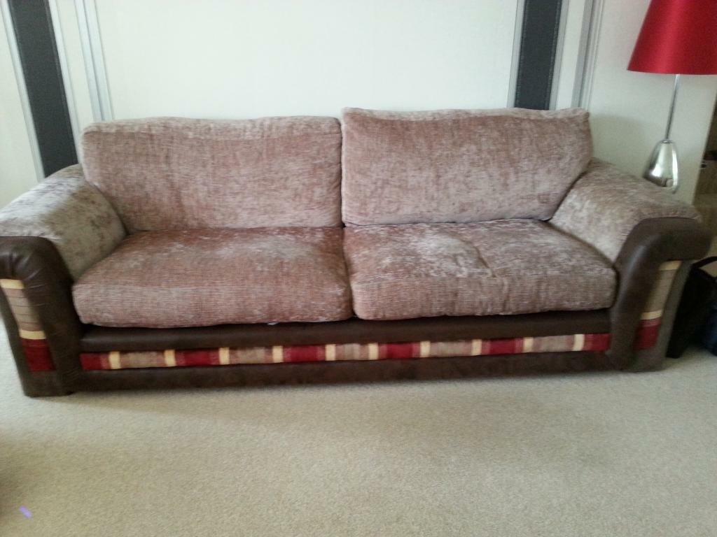 Dfs large 4 seater sofa and swival chair excellent condition in gateshead tyne and wear gumtree Dfs 4 seater leather sofa