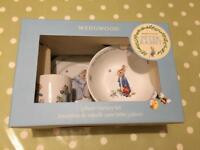 Beatrix Potter Wedgwood 3 piece china set