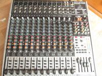 24 input mixing desk (Behringer Xenyx X2442USB)