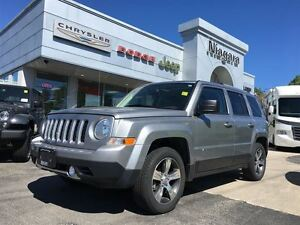 2016 Jeep Patriot HIGH ALTITUDE,LEATHER,SUNROOF,BLUETOOTH,ALLOYS