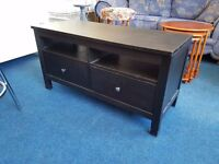 Ikea 'Hemnes' TV unit with 2 drawers and 2 shelves