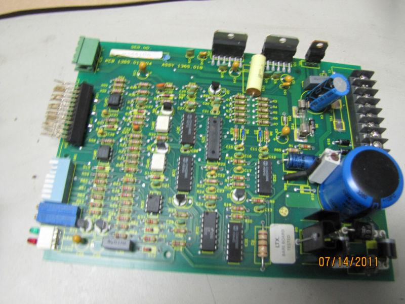 PARKER PK3 DRIVE CIRCUIT BOARD PCB 1365.017.04 1365.018