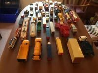 Selection to toy vehicles from 1980s/1990s