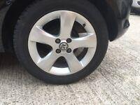 """Vauxhall Corsa D 2013 SXi """"16"""" Alloys & Tyres Set Of 4"""