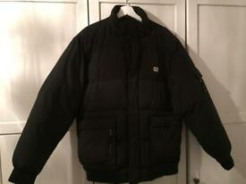 Men's size large caterpillar jacket coat excellent condition