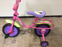Childs Minnie Mouse Starter Bike