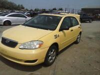 2007 COROLLA PARTS ONLY!!!!