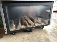 Flavel Rocco Real flame gas fire