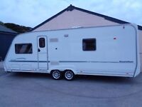 STERLING ELITE SEARCHER 2006 CARAVAN WITH AWNING