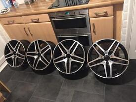 GENUINE MERCEDES AMG ALLOYS E/class