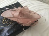Wedding fascinator hat