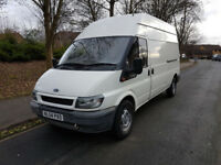 Man and Van - Long wheel base/ High roof Transit van 07379330318
