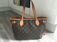 Authentic Louis Vuitton Neverfull PM handbag