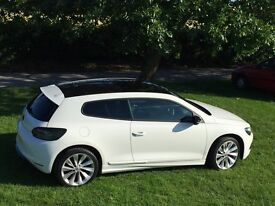 2010 Volkswagen Scirocco 2.0 TDI CR GT Sunroof Heated Leather Sensors 1 Owner, FSH