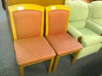 2 solid Chairs #31166 £15 #31167 £15
