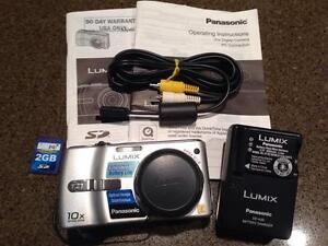 Panasonic LUMIX DMC TZ1 Camera and Accessories