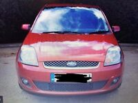 FORD FIESTA 1.4 TDCI RED 2007 56 PLATE