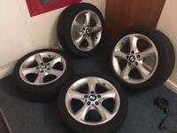 BMW Genuine 1 series alloy wheels, 5 x 120