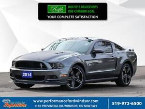 2014 Ford Mustang GT ***NAV, leather, aftermarket exhaust***