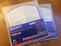 Sony XDCam Discs 50GB (x2)
