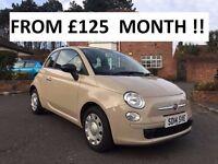2014 FIAT 500 POP 1.2 *** ONLY 7,693 MILES YES 7,693 *** FINANCE AVAILABLE ** ALL CARDS ACCEPTED