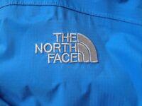 The North Face Womens Hyvent Waterproof Rain Coat XS Light Blue