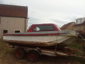 17 feet boat and trailer +30 yamaha outbourd