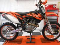 KTM 450 SXF Motocross Bike 2013 model bought new 2014