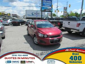 2012 Chevrolet Sonic LT | SPORTY | MUST SEE