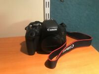 Excellent Canon EOS 750D with 18-55mm IS STM III Lens