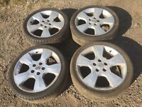 """For sale - Vauxhall Astra / Zafira / vectra 17"""" alloy wheels"""