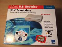 3 Com US Robotics 56K Fax Modem