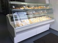 Genfrost Display Serve Over Counter/Fridge, Catering Equipment Bakery/Sandwich Shop