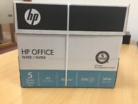 1 Box Contains Five Reams of 500 Sheets - PH 80 gsm A4 White Office Copier Paper