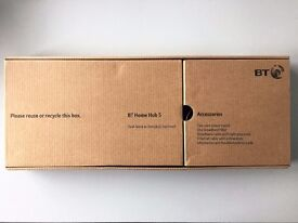 BT HOME HUB 5 WIRELESS ROUTER - BARELY USED, IN ORIGINAL BOX