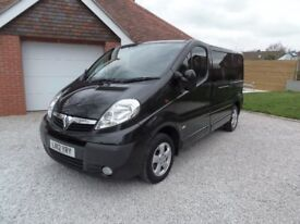 VAUXHALL VIVARO 2.0 CDTI SPORTIVE VAN, 2012 REGISTERED, ONE OWNER, BEAUTIFULLY PRESENTED AND NO VAT