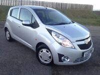 Chevrolet Spark 1.0 LS 5 Door Long MoT Low Miles 59k Low Insurance £30 Tax 2 Keys