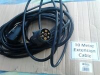 Trailer Extension Cable 10 m 7 core (NEW)