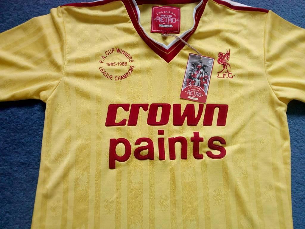 ecf6dd769e1 Liverpool Fc 1986 Retro Shirt - BCD Tofu House