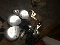 Full set Ben Sayers golf clubs