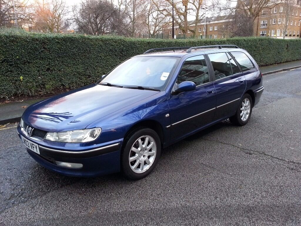 PEUGEOT 406 H.D.I AUTOMATIC 2003 , ONE (P) OWNER , SERVICE HISTORY