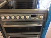 HOTPOINT ELECTRIC COOKER 60cm DOUBLE DOOR DOUBLE OVEN WITH GRILL FREE DELIVERY AND WARRANTY