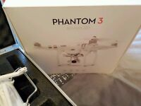 Dji Phantom 3 advanced with metal case and original box