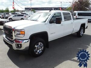 2015 Sierra 3500HD SLE-Crew-Z71-Gas-8ft Long Box-Backup Cam