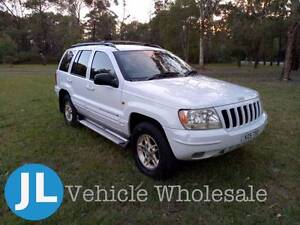 JEEP GRAND CHEROKEE LIMITED 4WD WAGON -TRAVEL IN LUXURY & COMFORT Double Bay Eastern Suburbs Preview