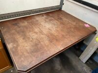 Late Victorian Mahogany Wind Out Dining Table