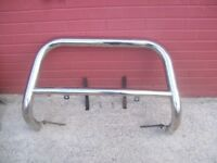 vw transporter small nudge bar bullbar