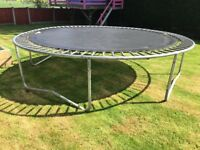 12ft Jumpking Trampoline Frame and Bed